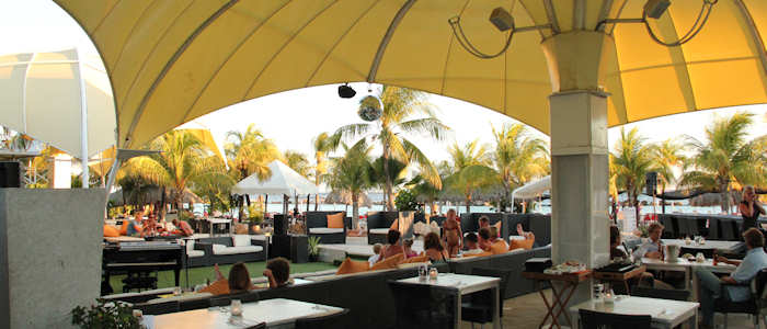 free holiday on curacao, view on Cabana_beach
